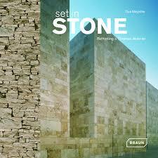 set in stone architecture braun publishing