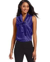 sleeveless tie neck blouse nine sleeveless tie neck blouse tops macy s