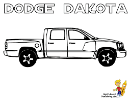 dodge ram truck coloring clip art library