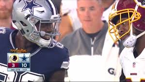 dez bryant and josh norman butted heads during and after the