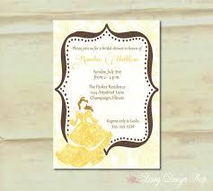 Beauty And The Beast Wedding Invitations 13 Best Wedding Invites Images On Pinterest Disney Weddings