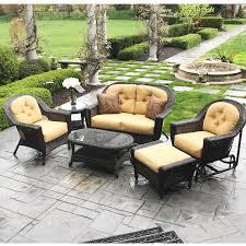 Walmart Outdoor Furniture Sets by Patio Wicker Patio Furniture Set Home Interior Design