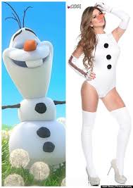 Inappropriate Halloween Costumes Adults Dress Olaf U0027frozen U0027 Halloween
