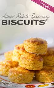 recipe for sweet potato rosemary biscuits from blue bayou