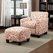 Printed Chairs Living Room by Ottoman Floral Armchair And Ottoman Accent Cow Print Chair And