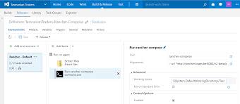 rancher logging using visual studio team services u0026 rancher for continuous