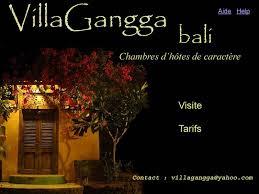 chambre d hote bali villagangga chambres d hôtes de caractère à bali