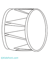 drum coloring pages printable
