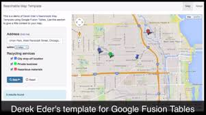 Chicago Google Map by Searchable Map Template With Google Fusion Tables And Github Pages