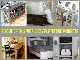 out of this world diy furniture projects
