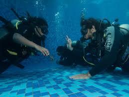 take the padi plunge dive lanka