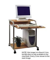 Computer Desk Tray Sts 5801 Cd 24 Compact Computer Or Laptop Desk Mobile