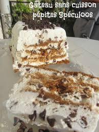 cuisine facile sans four recette du gâteau sans cuisson pépites spéculoos
