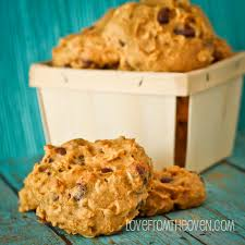 oatmeal pumpkin chocolate chip cookies love from the oven