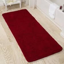 Memory Foam Toilet Rug Windsor Home 24 X 60 Inch Memory Foam Shag Bath Mat Free