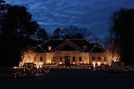House Christmas Lights by Custom Holiday Lighting For The Home Brings Out Style And Spirit