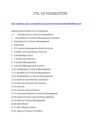 download pdf 2009 itil v3 foundation complete certification