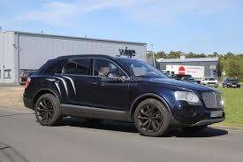 black bentley suv 2016 2016 bentley bentayga suv spotted nearly camo free autoevolution