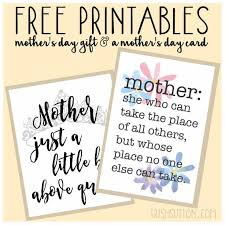 free printables s day gift and card