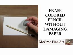 colored writing paper how to erase colored pencils without damaging the paper youtube