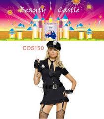 Policeman Halloween Costume Cos150 Women U0027s Ladies Police Fancy Dress Halloween Costume