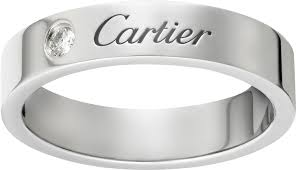 Cartier Wedding Rings by Crb4098200 C De Cartier Wedding Band Platinum Diamond Cartier
