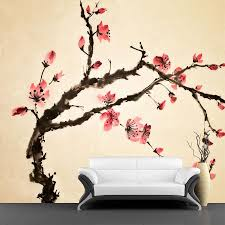chinese flower wall mural majestic wall art chinese flower wall mural