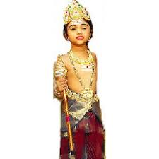 cute little murugan muruga indian fancy dress costume jewelry vel