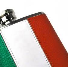 Irrland Flag Ireland Flag Deluxe Leather Irish Hip Flask Pink Cat Shop