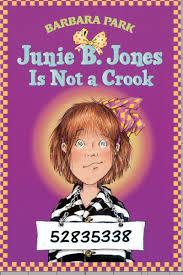 junie b jones is not a crook by barbara park scholastic