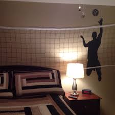 boys volleyball bedroom wall decal from amazon and net from boys volleyball bedroom wall decal from amazon and net from walmart