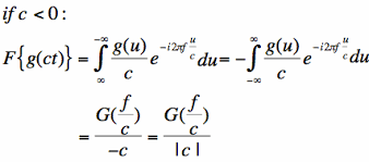 Fourier Transform Table Properties To The Fourier Transform