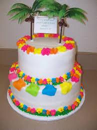 Luau Cake Decorations Luau Baby Shower Cakes Party Xyz