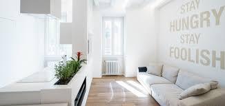 minimalist apartment with all white interior in rome by brain minimalist apartment with all white open space interior in rome italy by brain