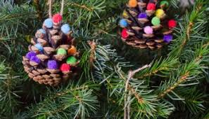 Natural Christmas Decorations Natural Christmas Decorations Pine Cone Trees Growing Family