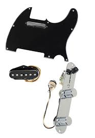 fender tele telecaster loaded pre wired pickguard texas special