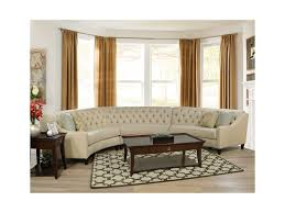 Curved Sectional Sofa Finneran 3 Curved Sectional Sofa Dunk Bright