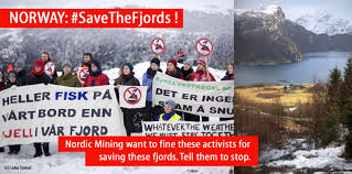 Norway Meme - tell nordic mining to drop lawsuit against peaceful activists