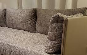canapes tissu associer le cuir et le tissu sur canapé canapés duvivier