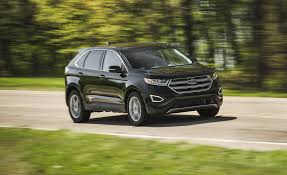 Ford Edge Safety Rating 2018 Ford Edge In Depth Model Review Car And Driver