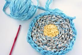 Crochet A Rag Rug I D L E W I F E Diy Crocheted Rag Rug Part 4