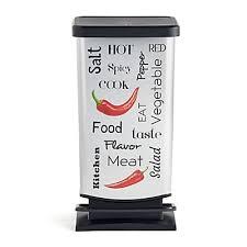 alinea poubelle cuisine poubelles de cuisine bocaux et boite de conservation arts de la