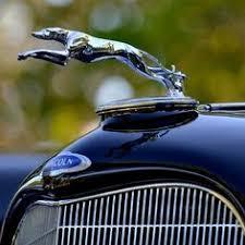 1929 delage brau deco greyhound car ornament animal