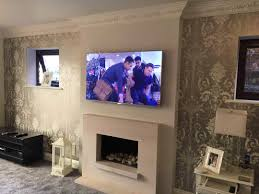 Wall Mounted Tv Ideas by Living Room Decorating Tv Furniture Ideas Orangearts Luxury With