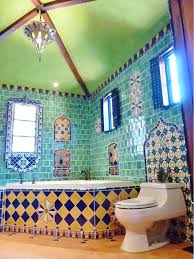 vibrant u0026 colourful tile from around the world interiors and house