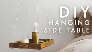 diy minimal hanging night stand u2014 the sorry girls