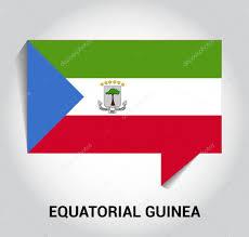 Equatorial Guinea Flag Rovníková Guinea Vlajky Bublinu U2014 Stock Vektor Ibrandify 93747214