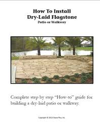 Dry Laid Flagstone Patio Landscaping How To Guides