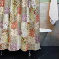 greenland home blooming prairie bath shower curtain u2013 closeoutlinen
