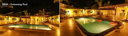 private 3 and 4 bhk bungalows in panchgani with pool on rent